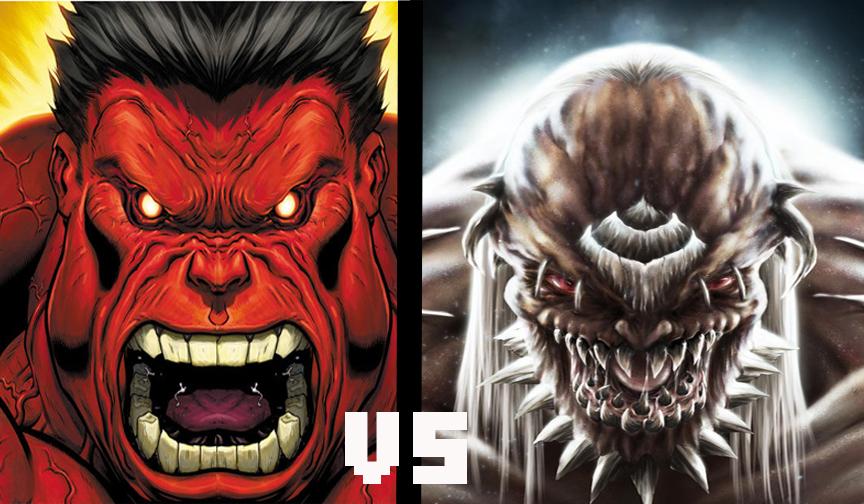 Battleworld Brawls: Red Hulk vs Doomsday | Product Of My ... Red Hulk Vs Doomsday